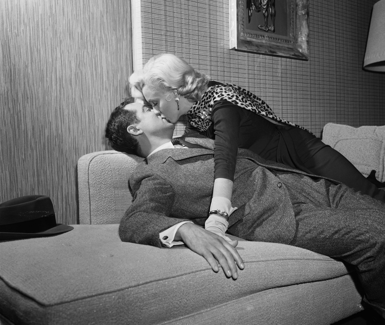 Marilyn Monroe With Tommy Noonan