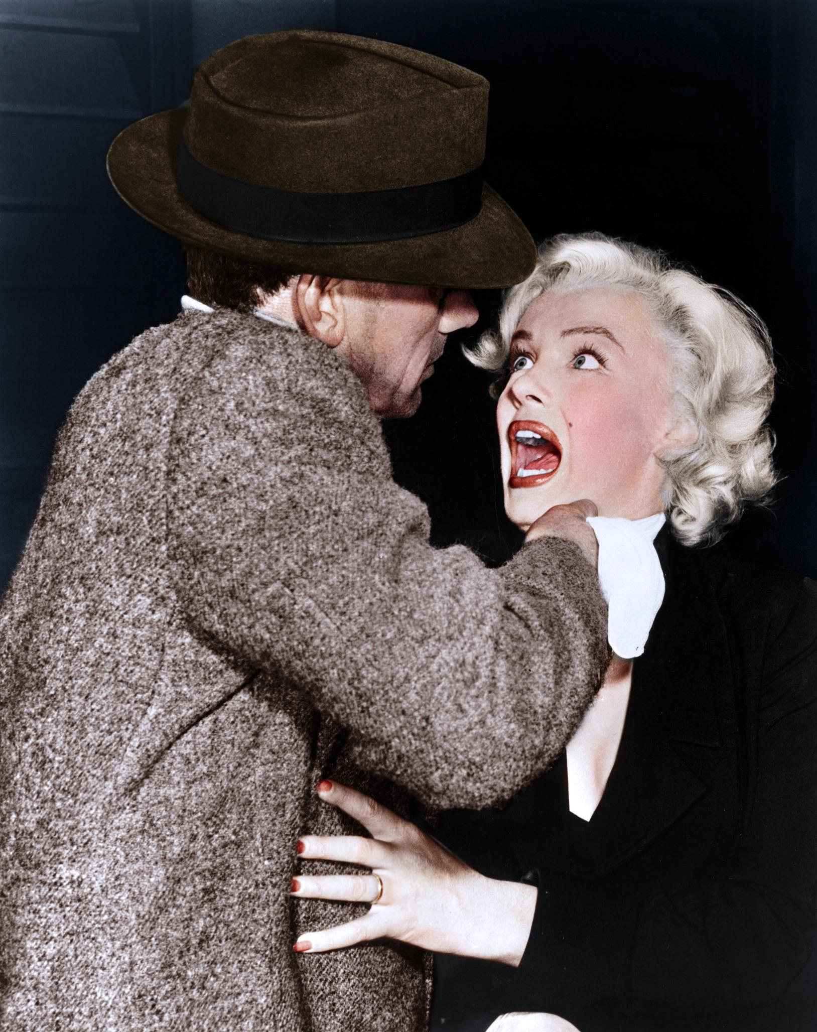 Marilyn Monroe With Joseph Cotten