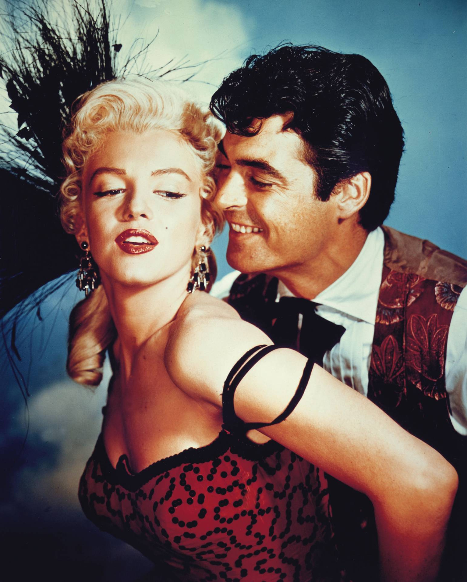 Marilyn Monroe With Rory Calhoun