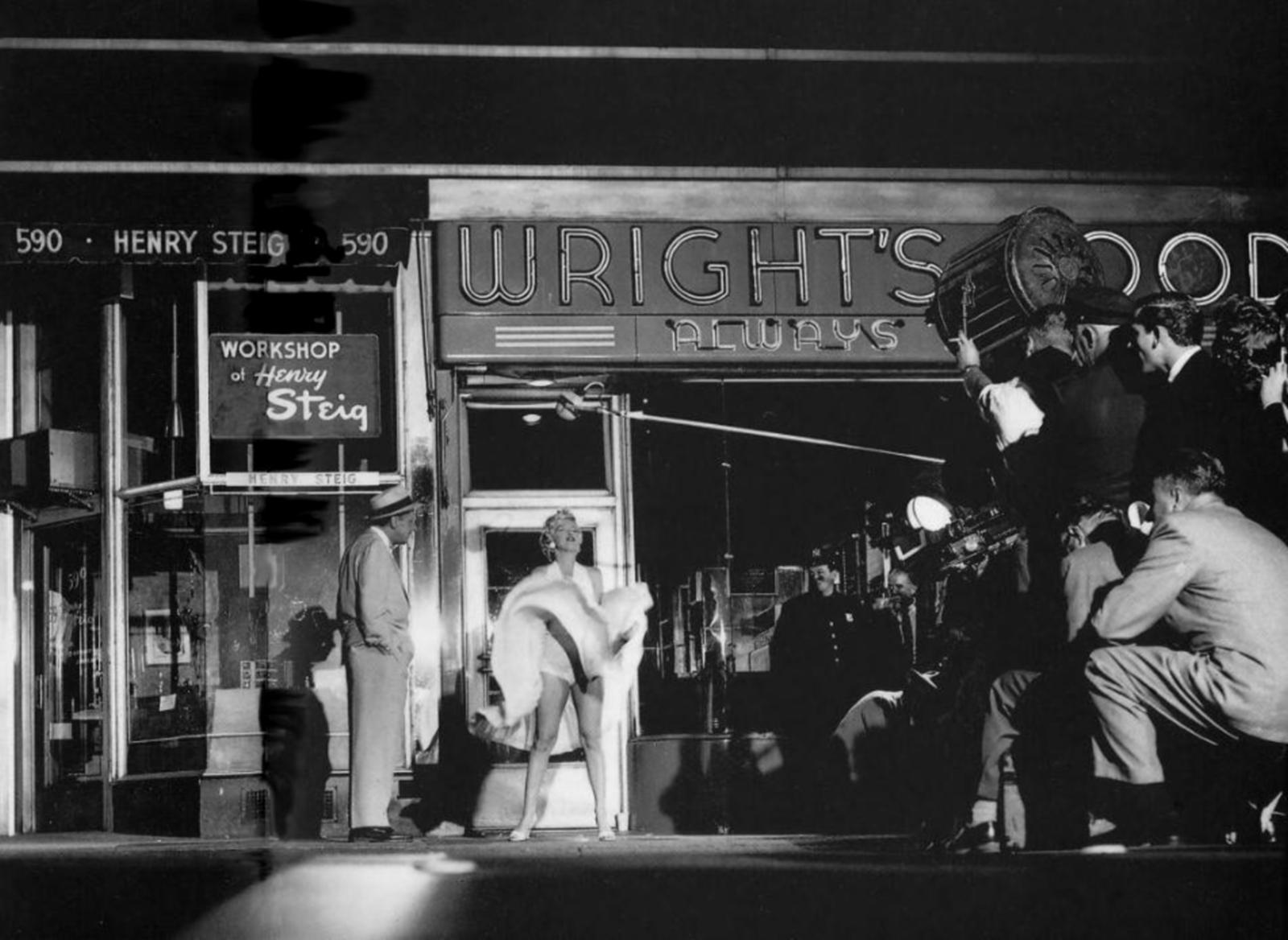 Marilyn Monroe With Tom Ewell