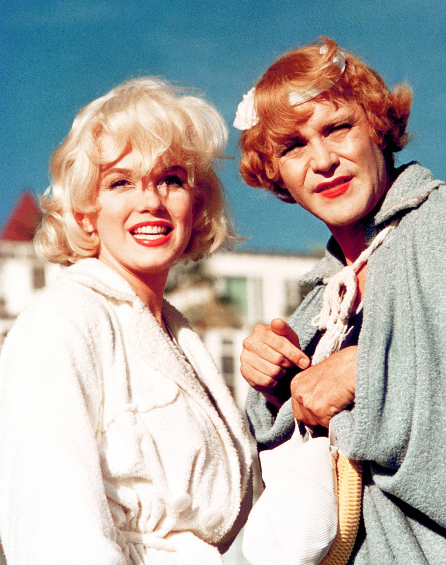 Marilyn With Jack Lemmon
