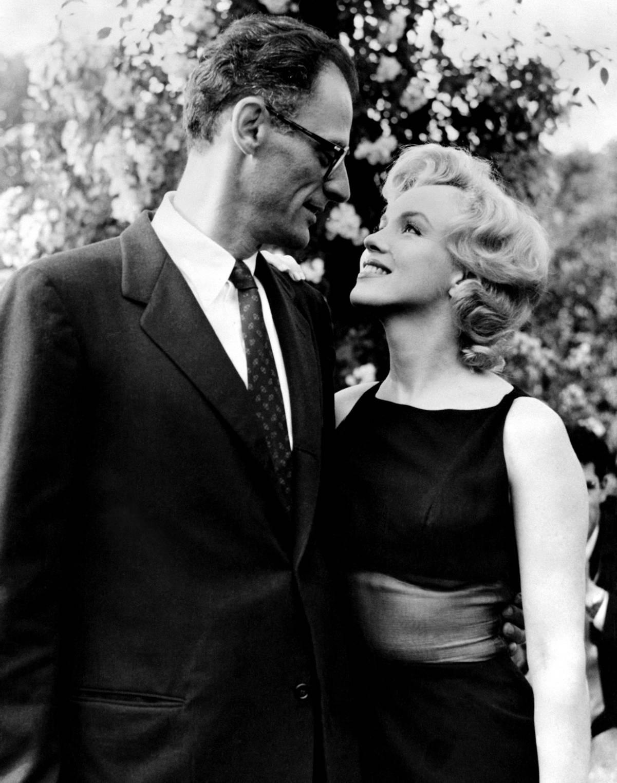 Marilyn Monroe With Arthur  Miller