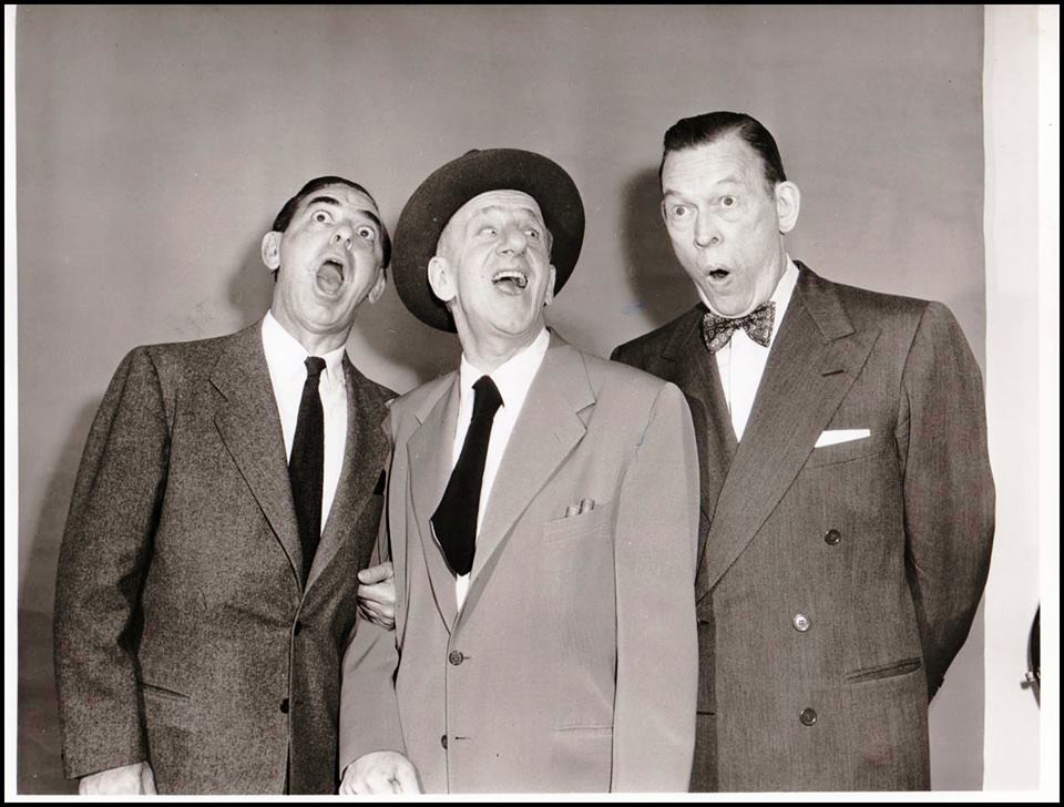 Jimmy DURANTE, Eddie CANTOR, and Fred ALLEN
