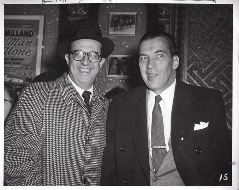 Phil Silvers and Ed Sullivan