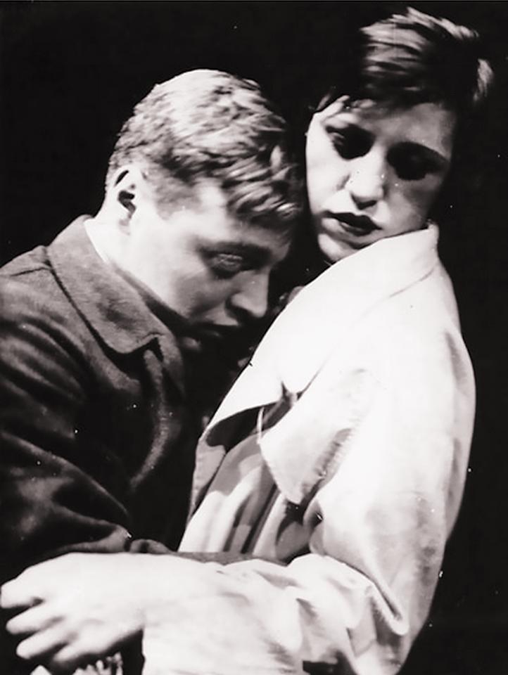 Peter Lorre & Lotte Lenya