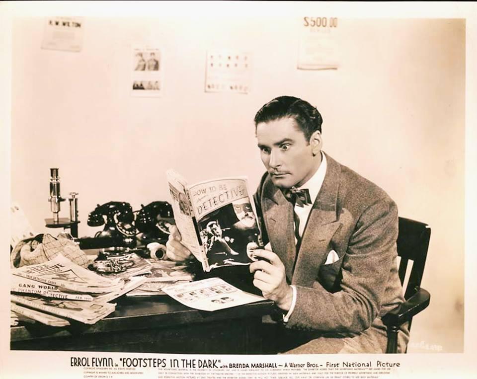 Errol Flynn Footsteps In The Dark 1941