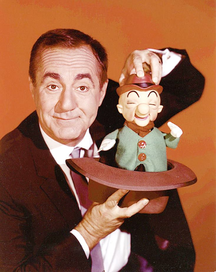 Jim Backus, the voice of Mister Magoo.
