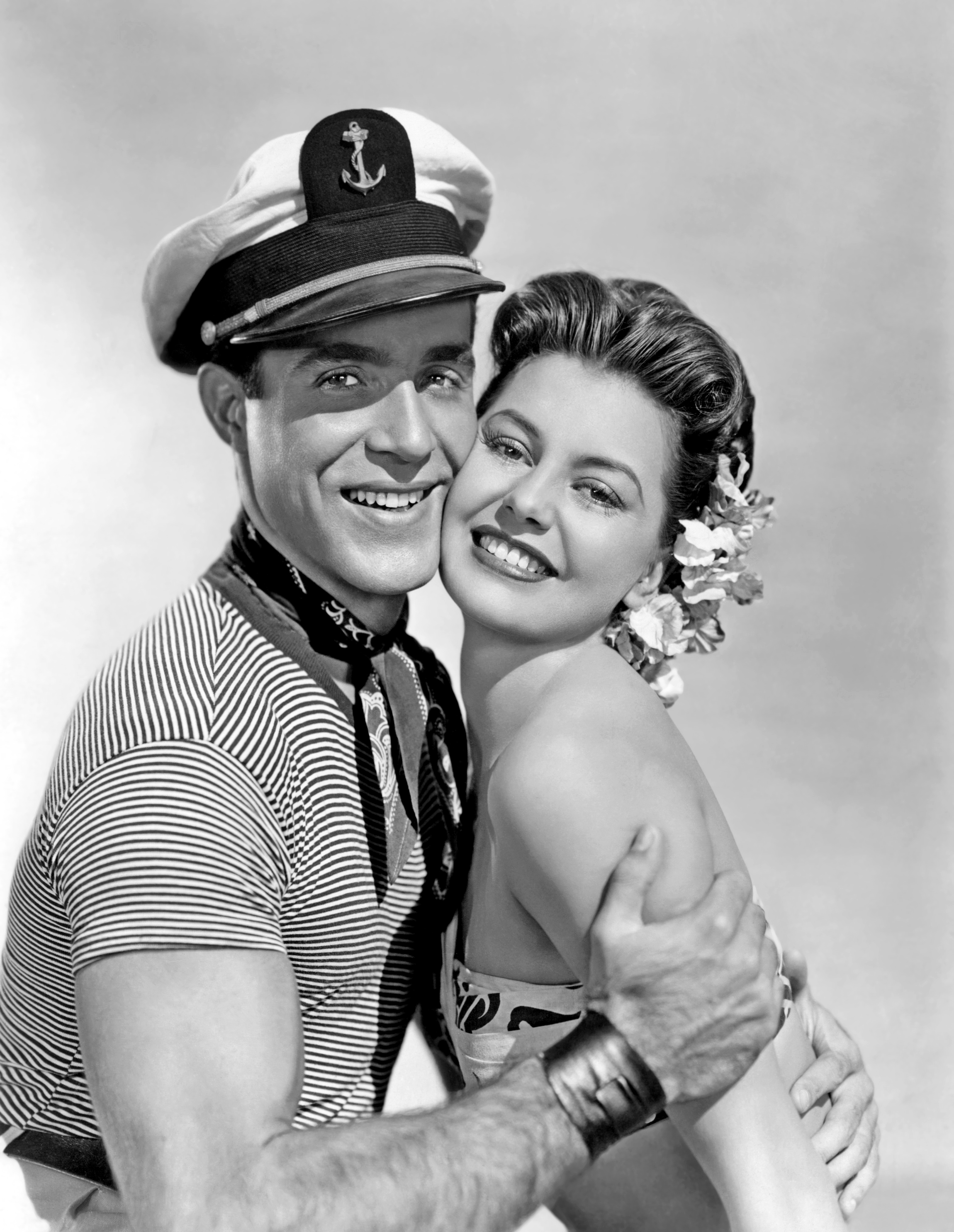 Ricardo Montalban With Cyd Charisse.
