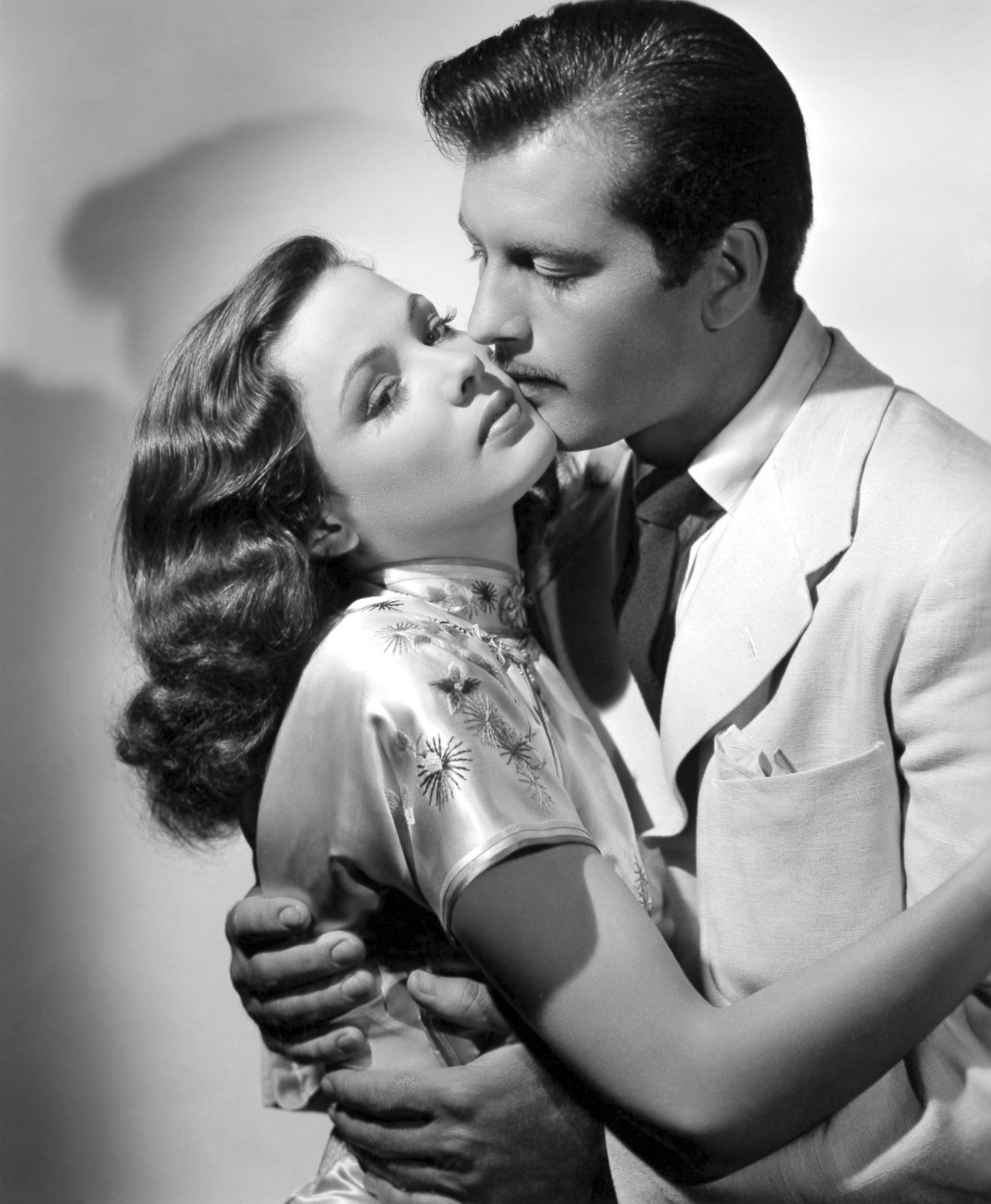 George Montgomery in China Girl With Gene Tierney
