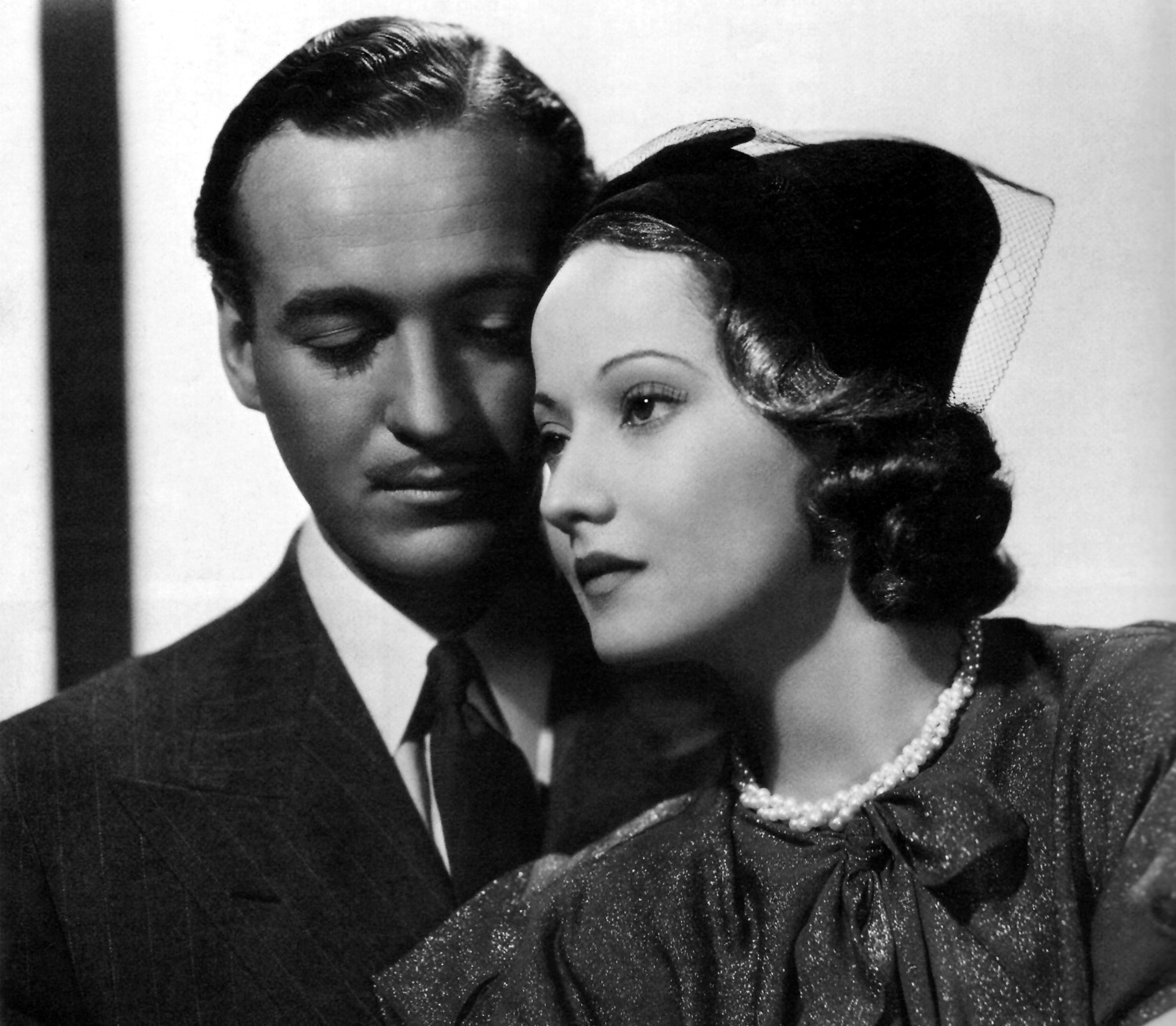 David Niven in Beloved Enemy With Merle Oberon