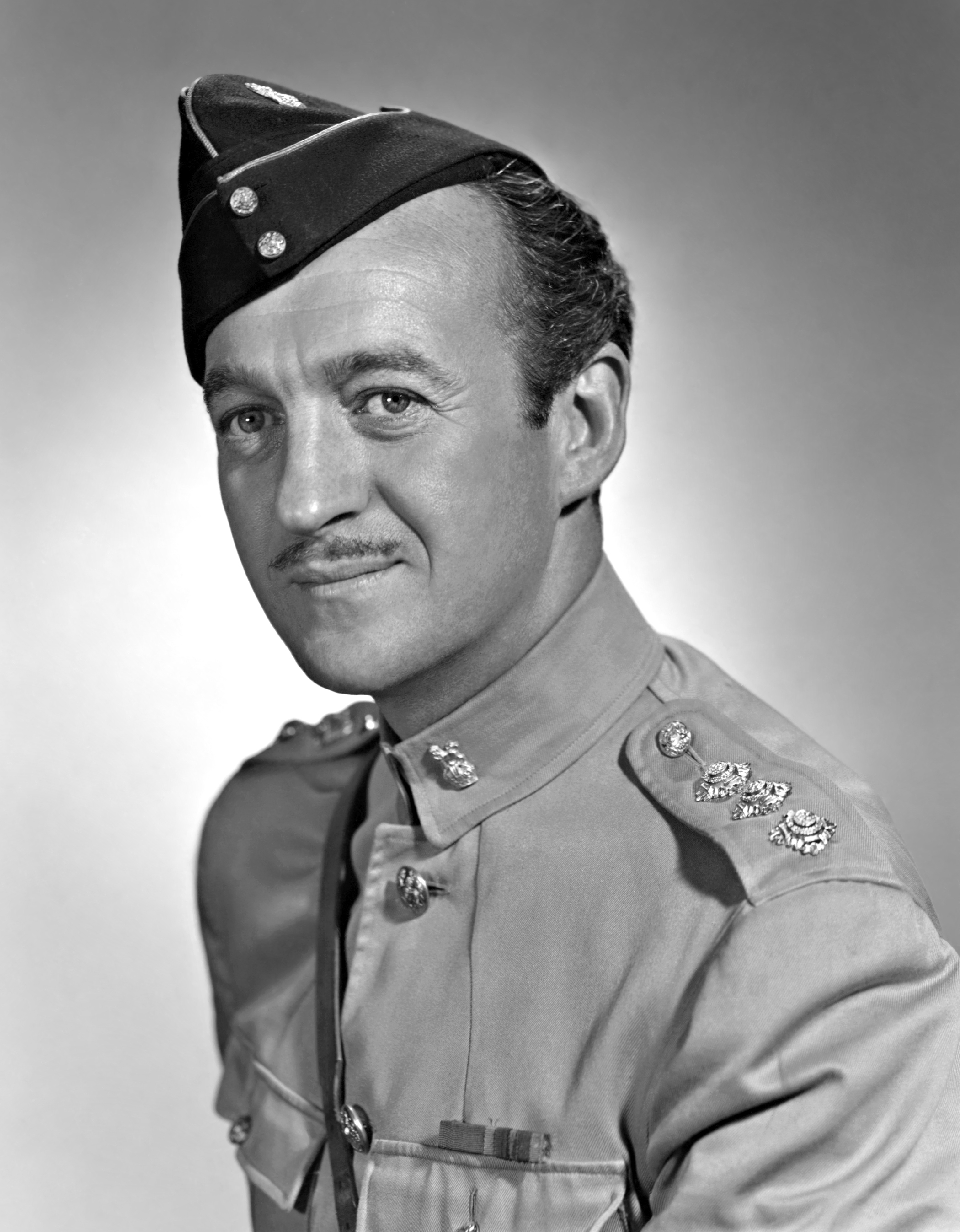 David Niven in Soldiers Three