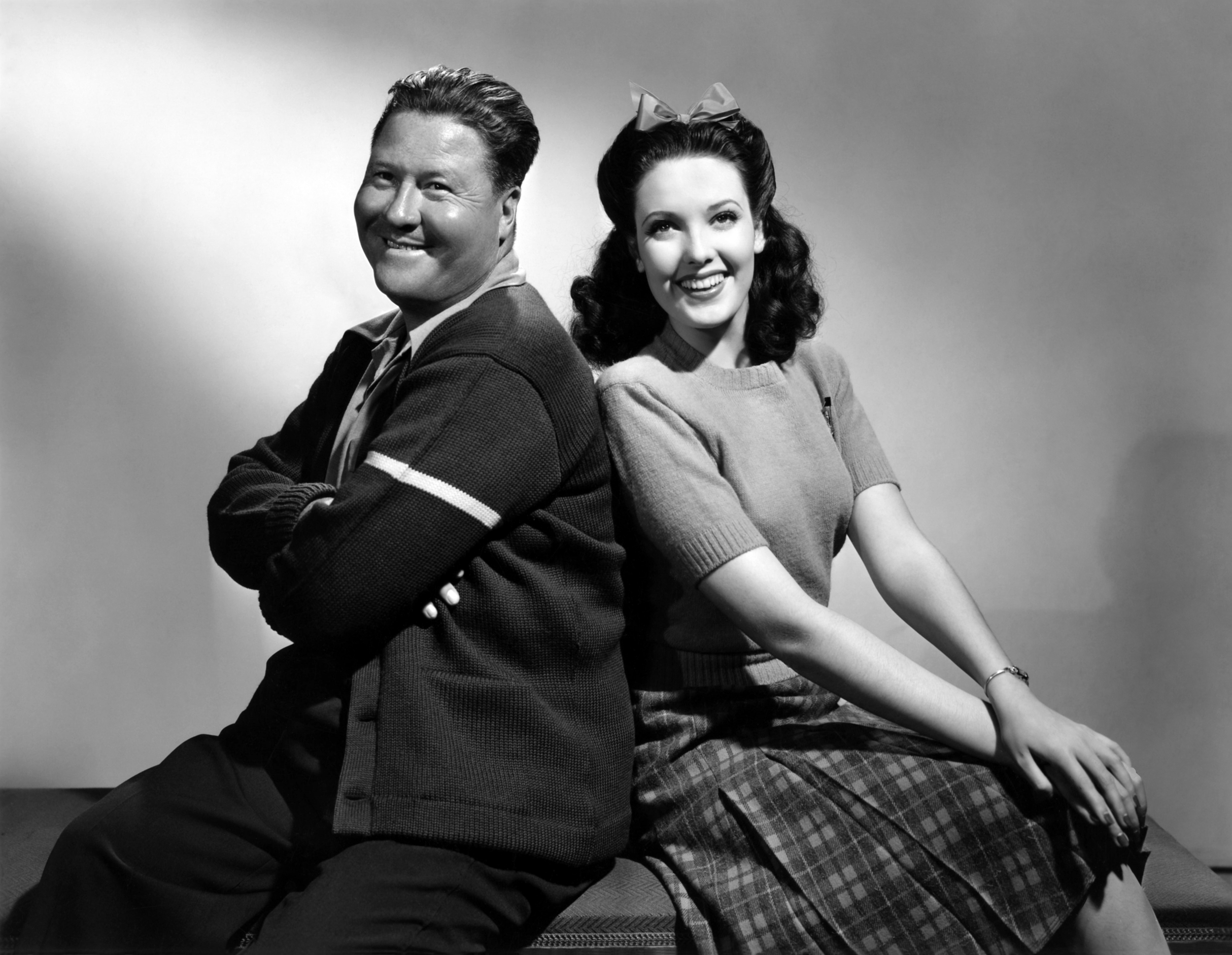 Jack Oakie in Rise and Shine With Linda Darnell
