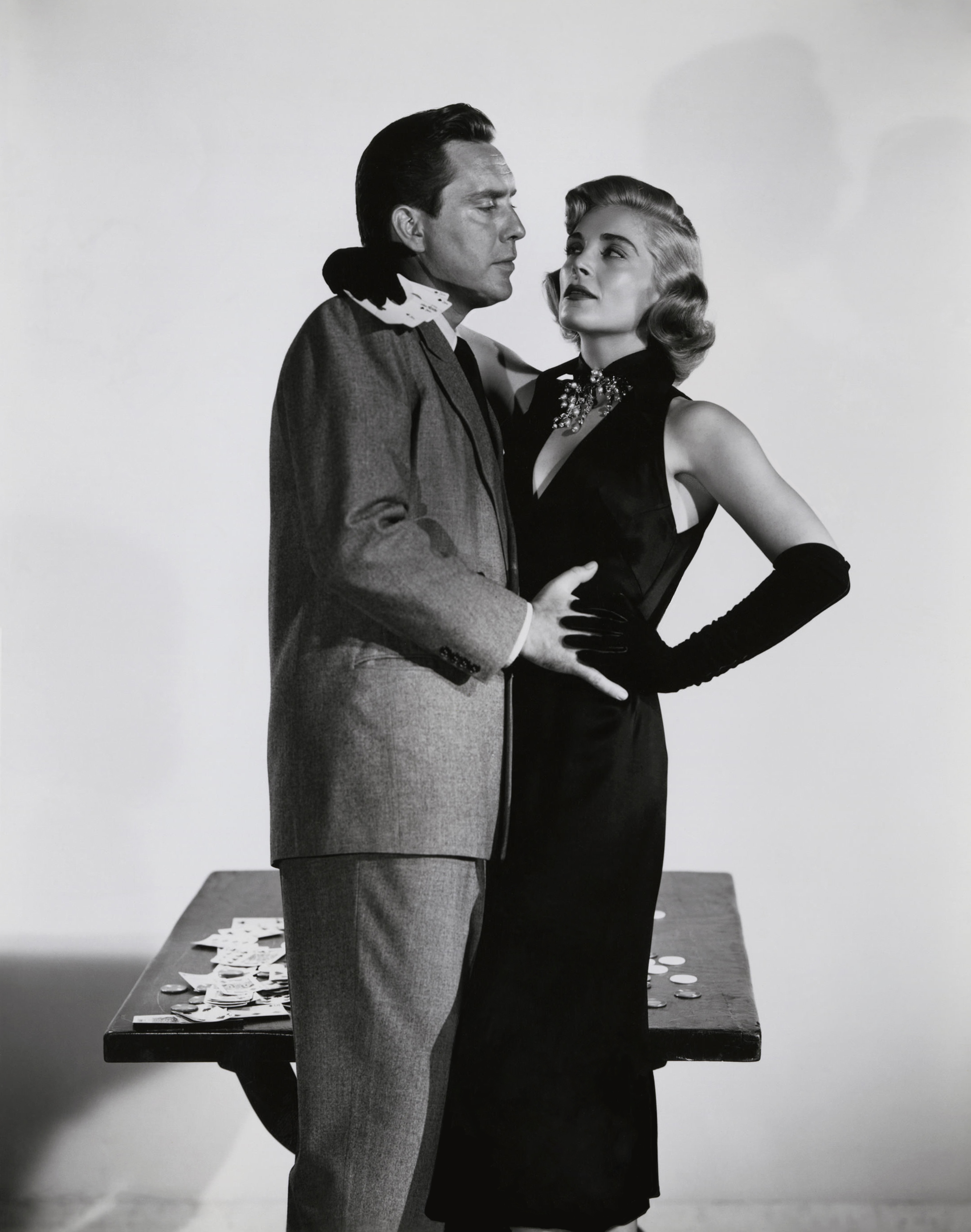 Edmond O'Brien in Two of a Kind With Lizabeth Scott