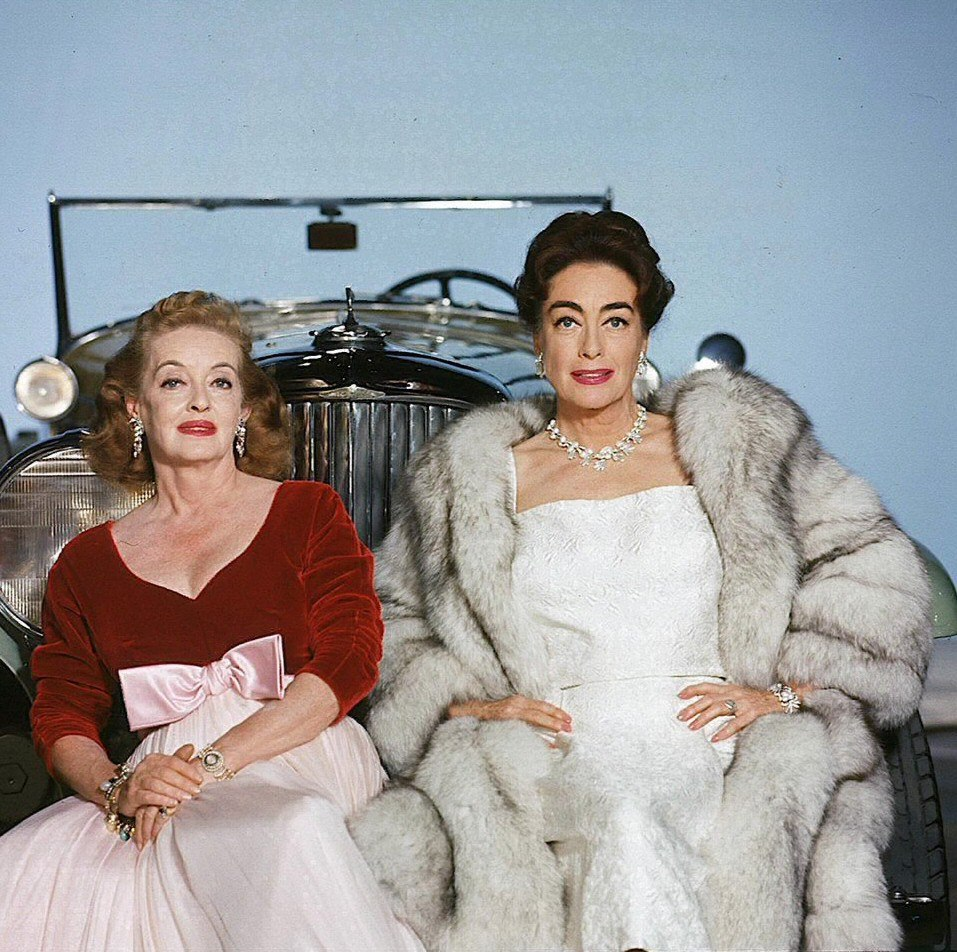Bette Davis and Joan Crawford, 1962