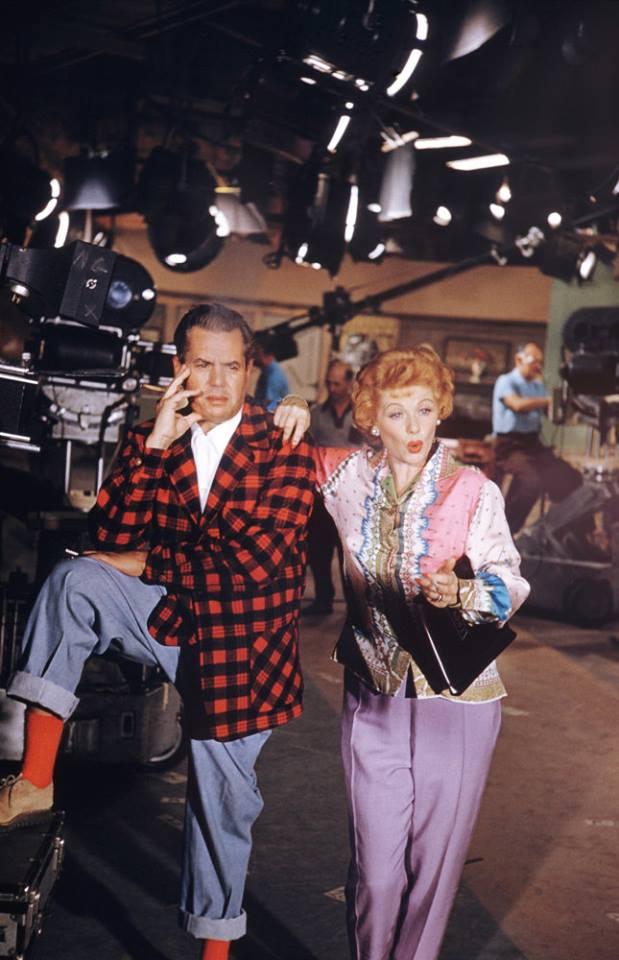 Desi Arnaz, Sr. and wife Lucille Ball