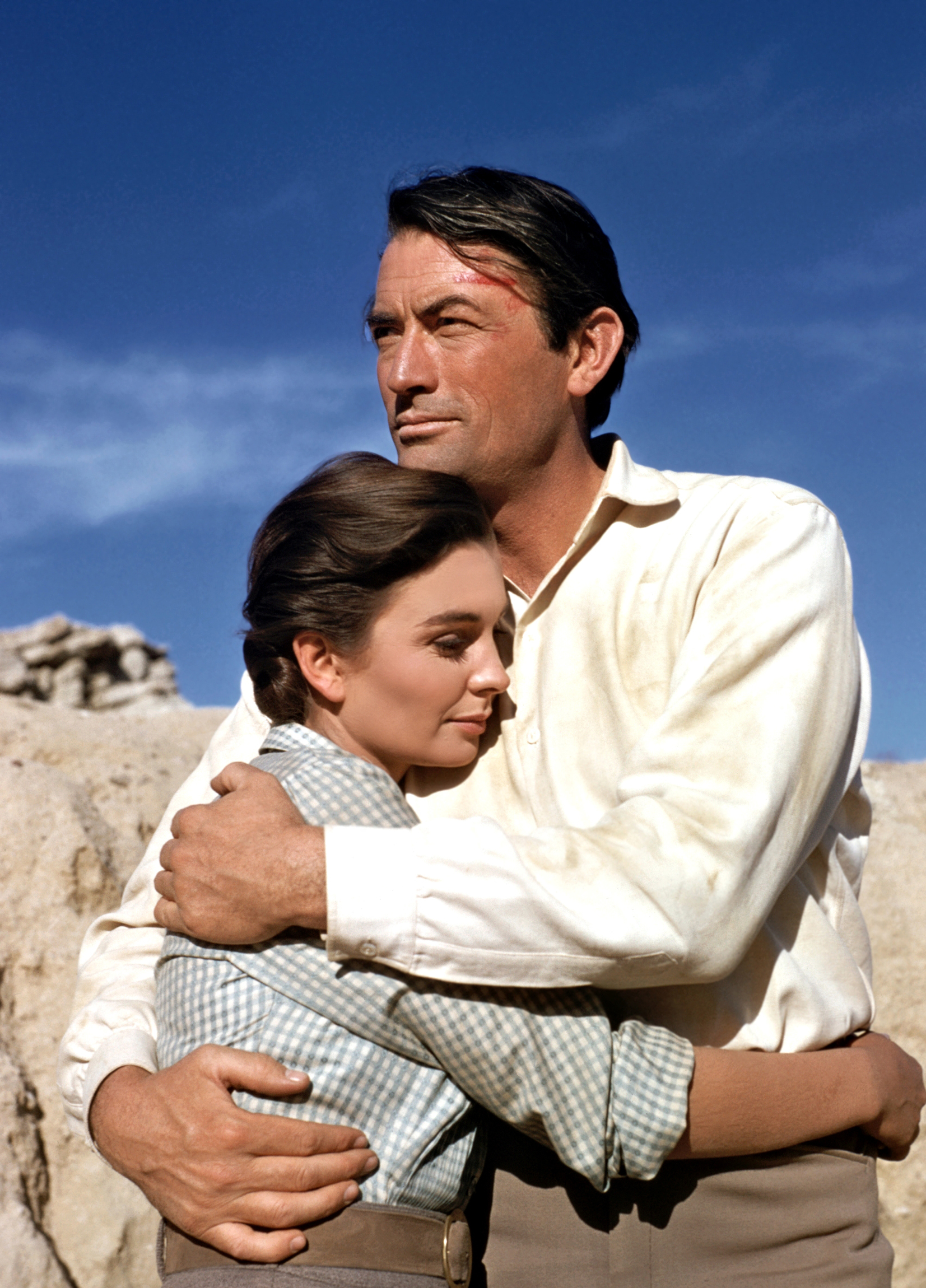 Gregory Peck With Jean Simmons