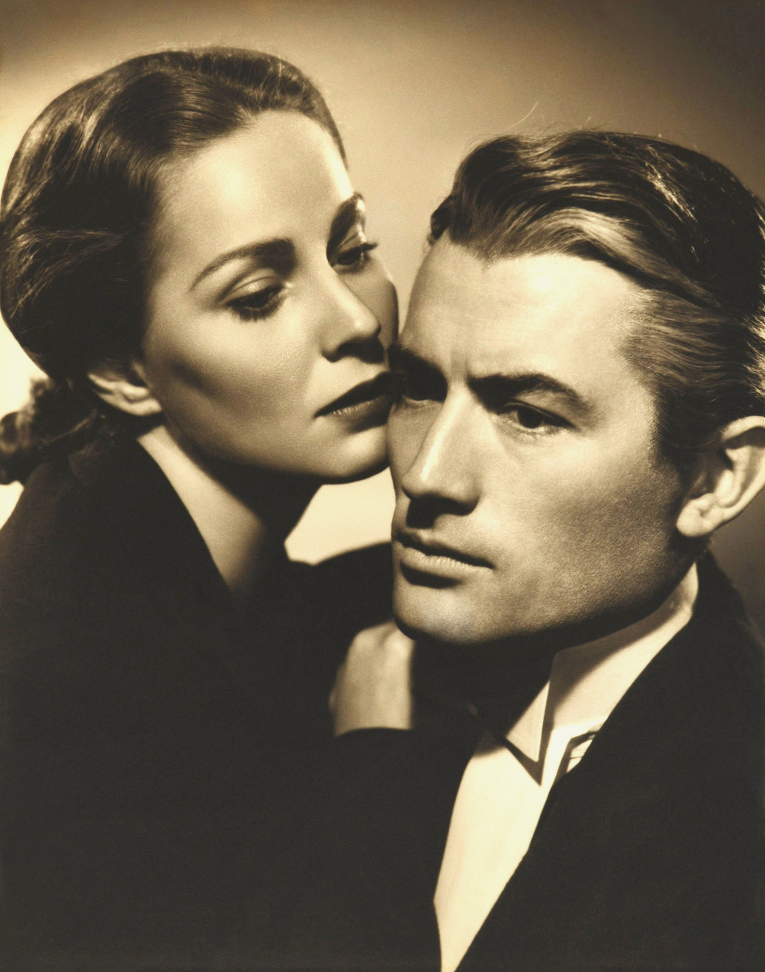 Gregory Peck With Alida Valli