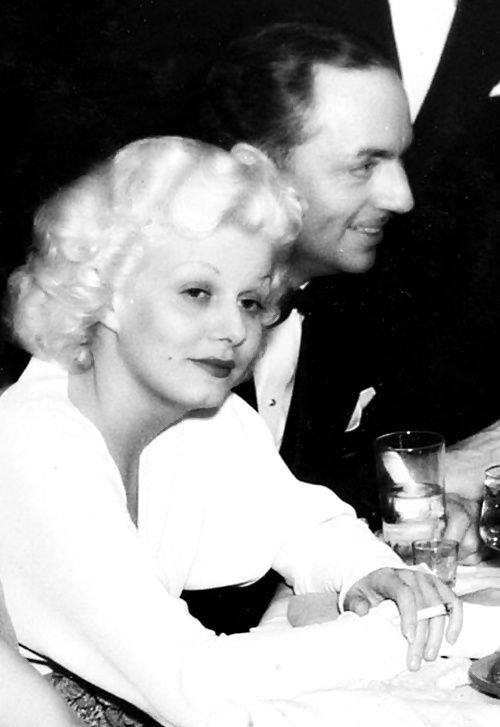Jean Harlow and William Powell, 1935