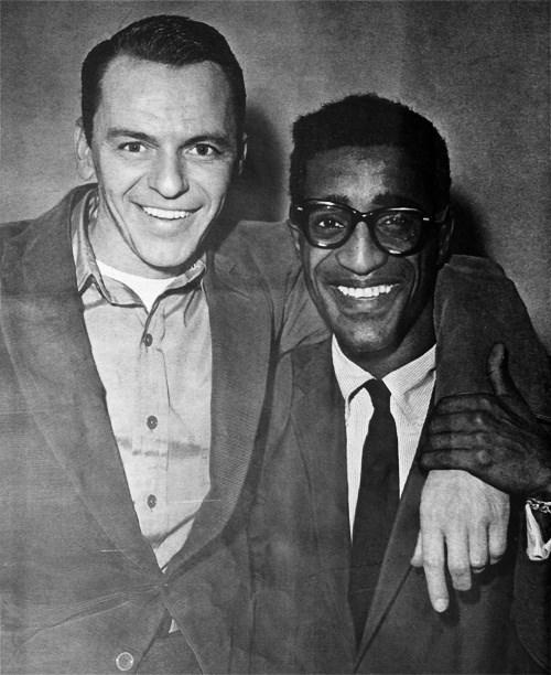 Frank Sinatra and Sammy Davis Jr
