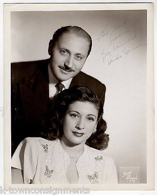 Andre Baruch and Bea Wain