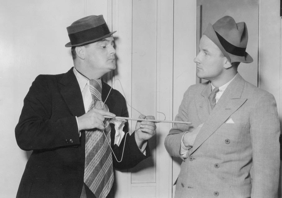 Col. Lemuel Q. Stoopnagle (F. Chase Taylor) and Budd (W. Budd Hulick)...
