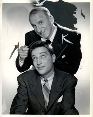 Jimmy Durante and Garry Moore.