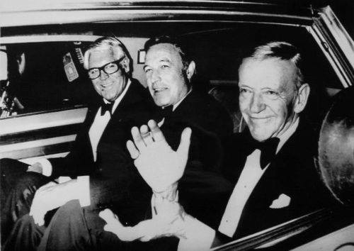 Three gents: Cary Grant, Gene Kelly and Fred Astaire.
