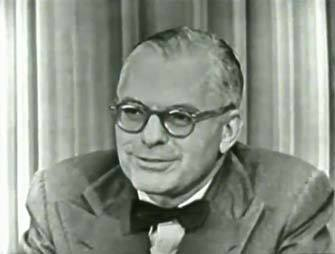 Famous publisher, humorist and columnist, Mr. Bennett Cerf