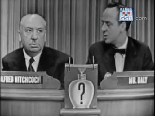 Alfred Hitchcock as the WML Mystery Guest