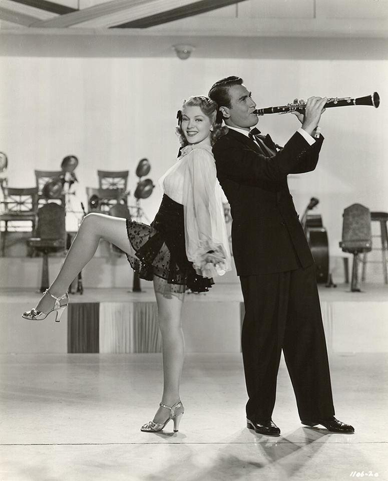 Artie Shaw and Lana Turner.
