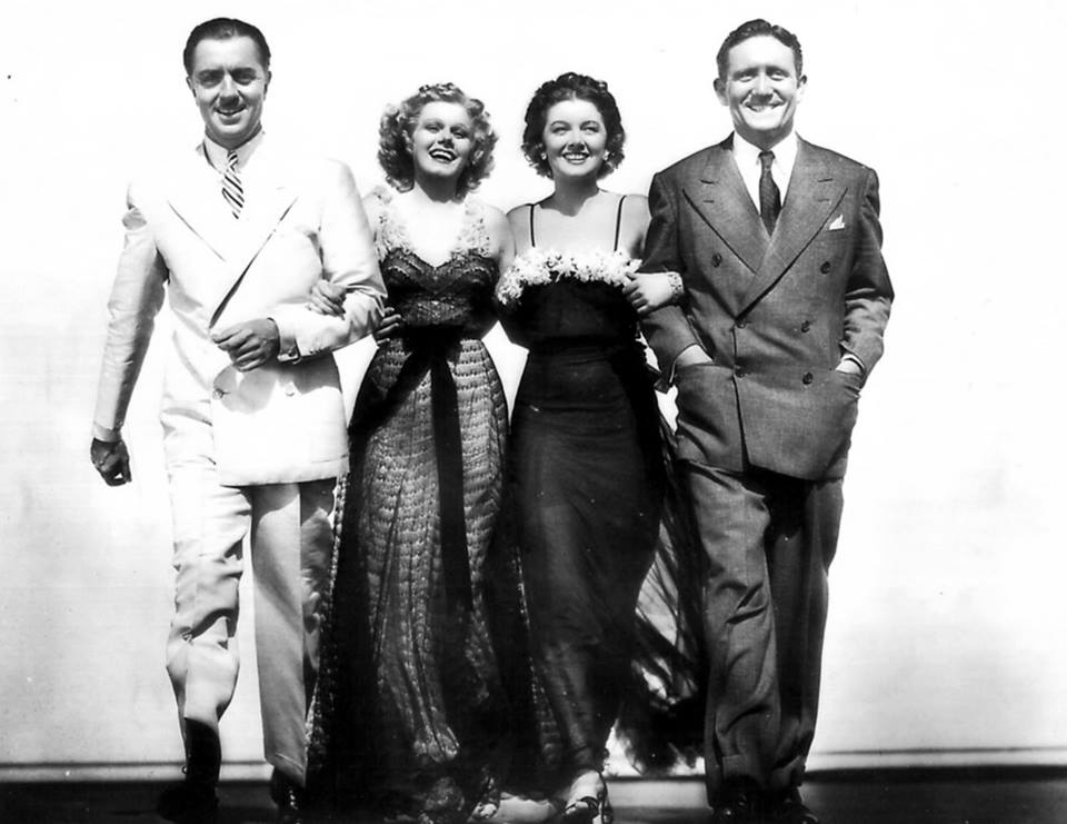 Jean Harlow, Myrna Loy: Queen of Hollywood, William Powell and Spencer Tracy.