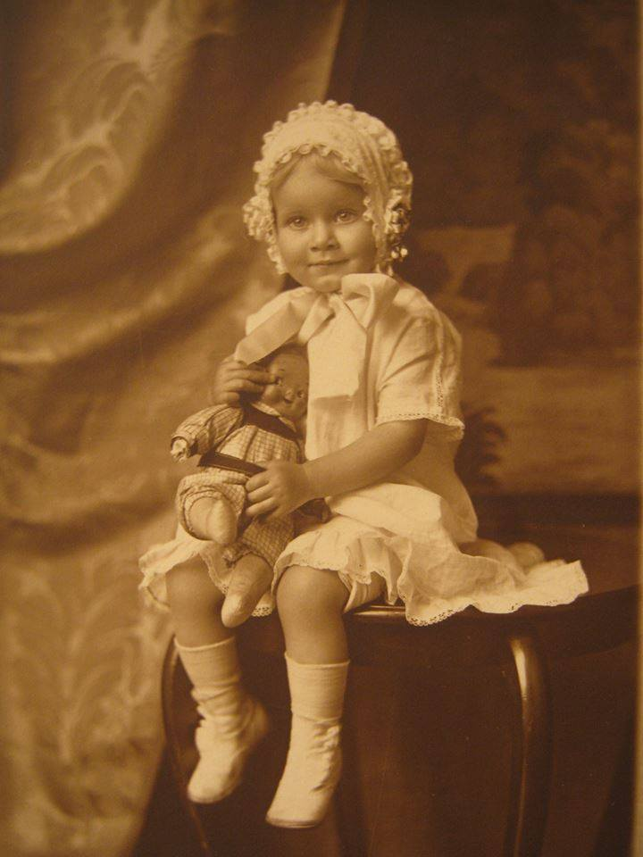 Baby Jean Harlow..beautiful from day one!