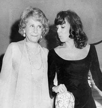 Arlene Francis and Phyllis Newman, November 2, 1974