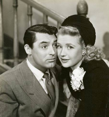 Cary Grant and Priscilla Lane