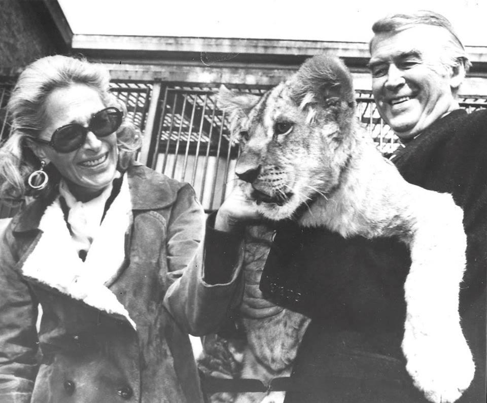 Gloria and Jimmy Stewart