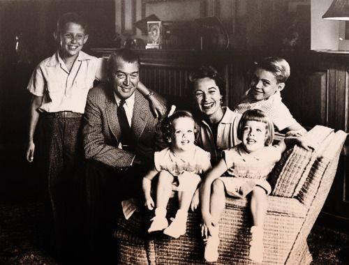 Jimmy Stewart Family