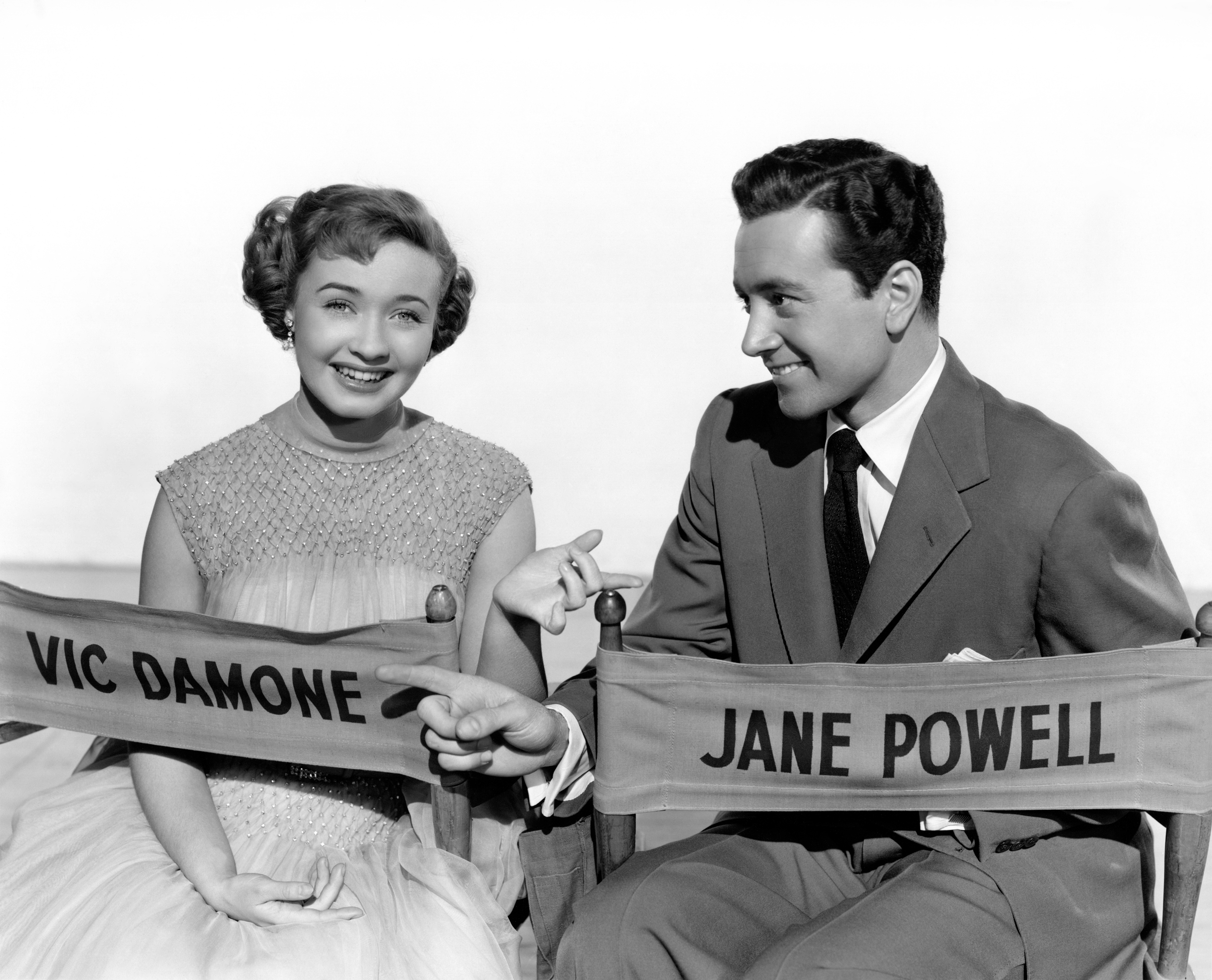 Jane Powell in Rich, Young and Pretty with With Vic Damone (Courtesy of Ricardo)
