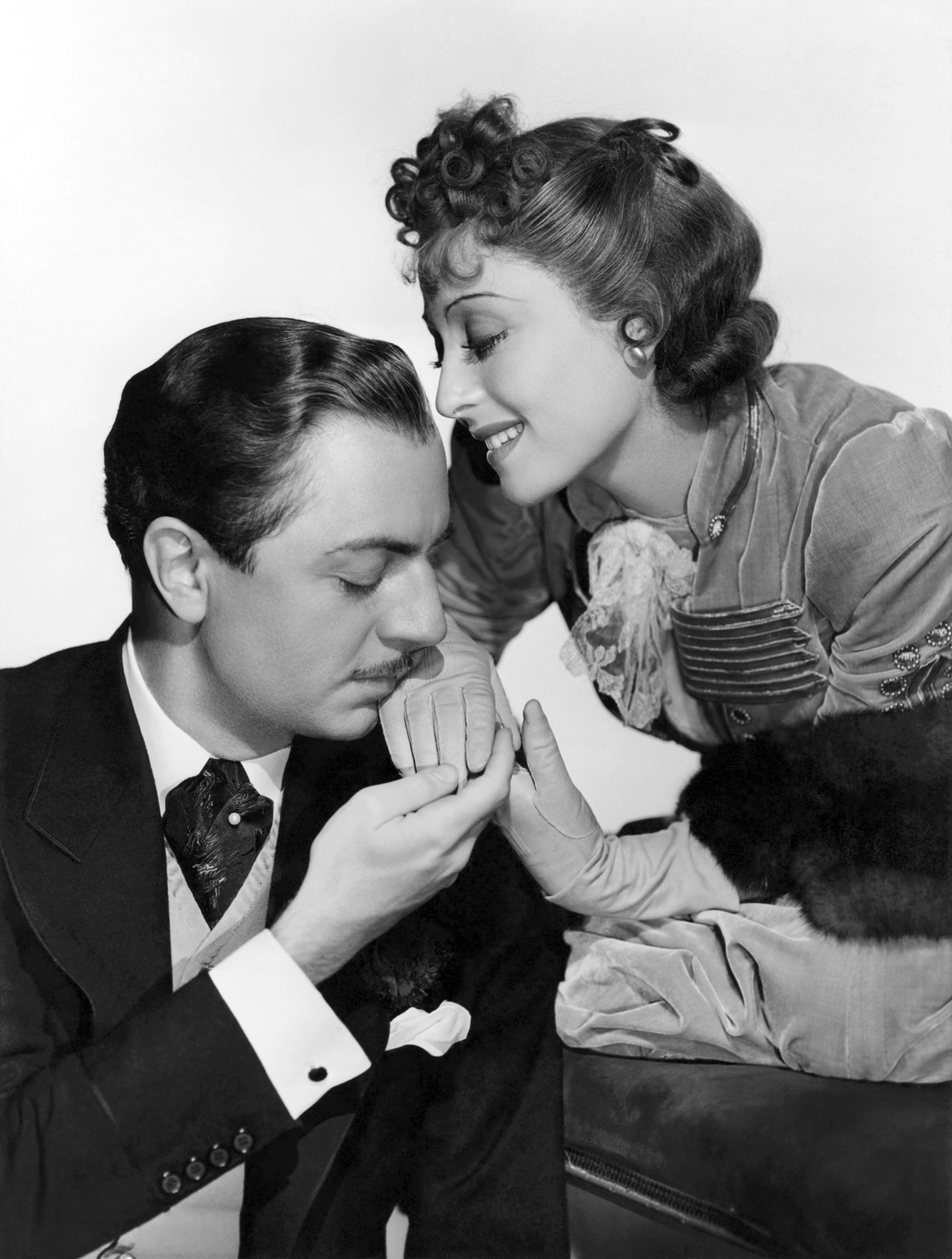 William Powell in The Emperor's Candlesticks With Luise Rainer (Courtesy of Sarah and Michelle)
