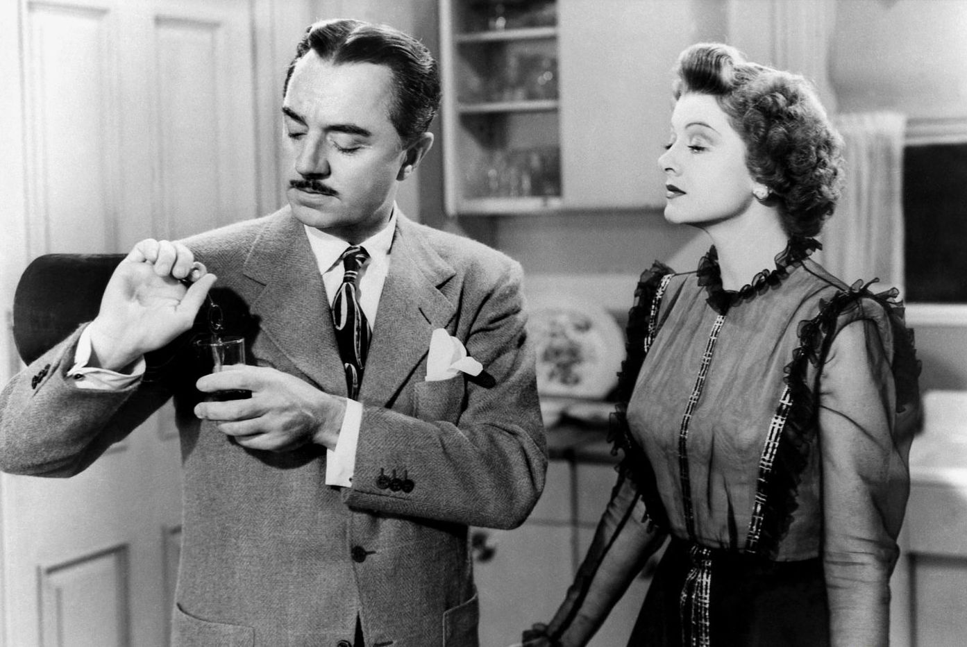 William Powell in The Thin Man Goes Home With Myrna Loy