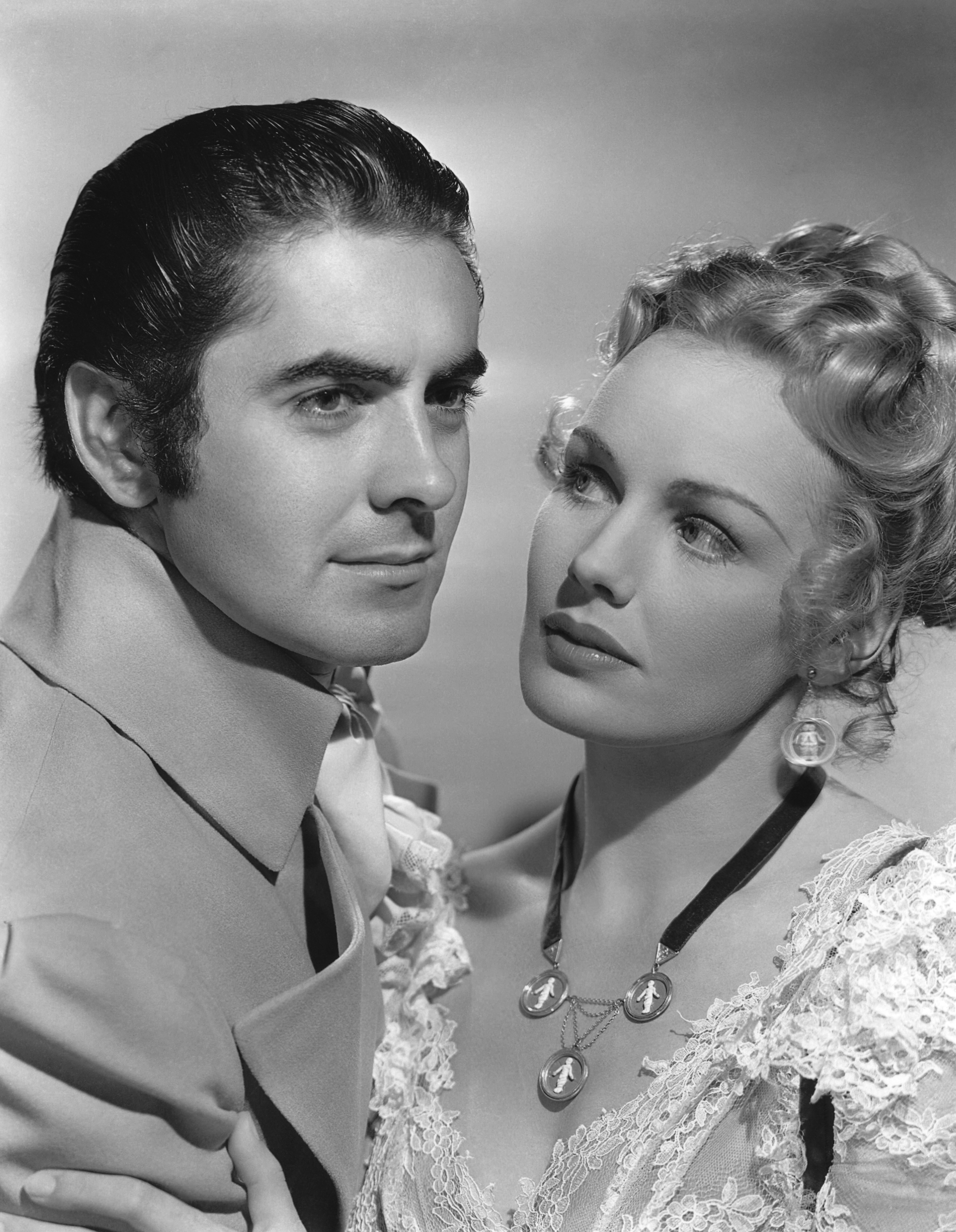 Tyrone Power, Jr. in Son of Fury With Frances Farmer