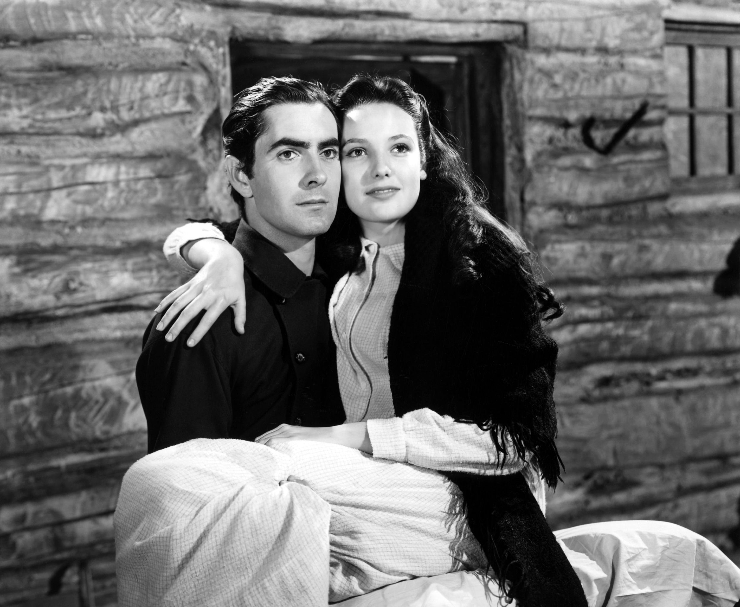 Tyrone Power, Jr. in Brigham Young With Linda Darnell