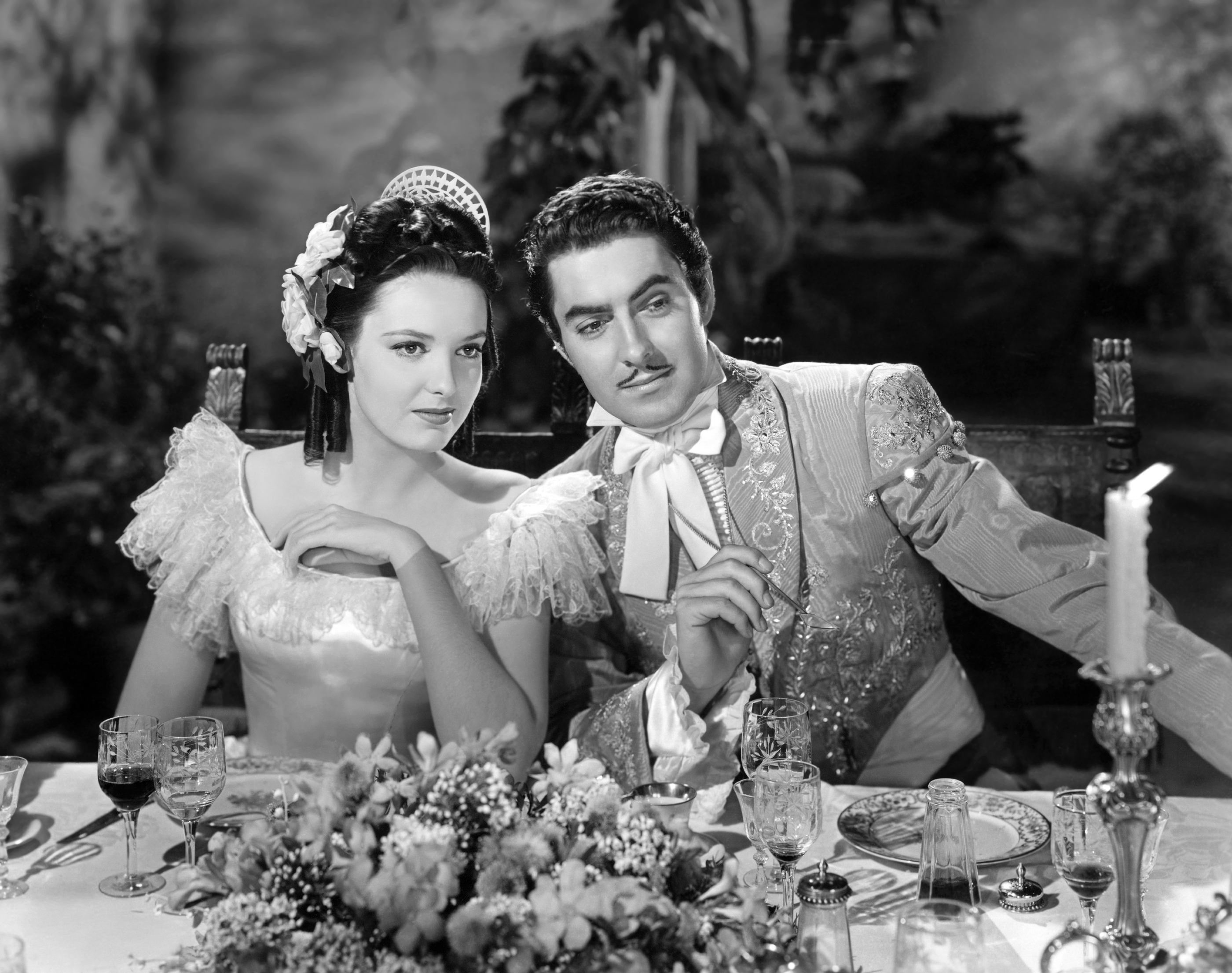 Tyrone Power, Jr. The Mark of Zorro with With Linda Darnell