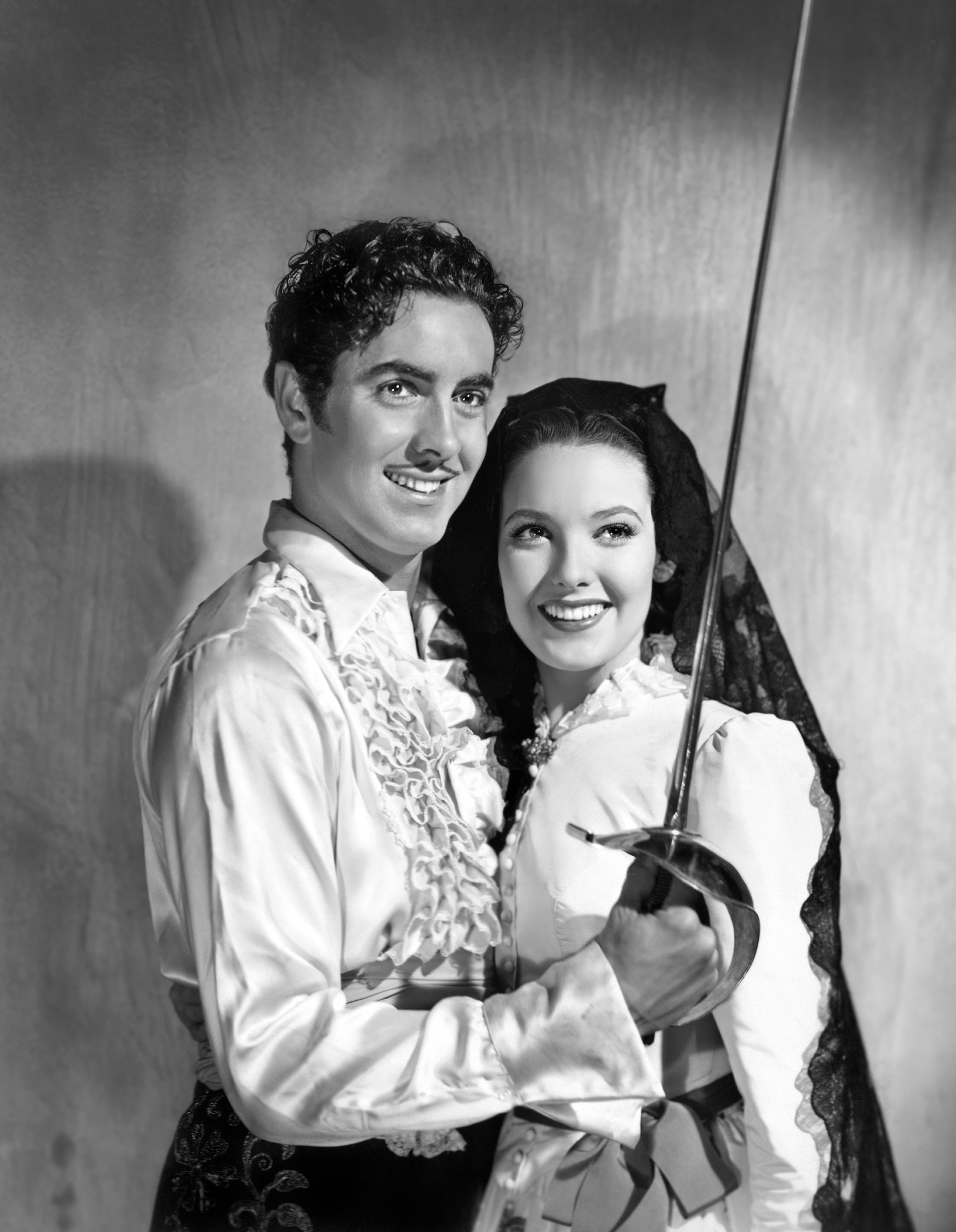 With Linda Darnell The Mark of Zorro With Linda Darnell