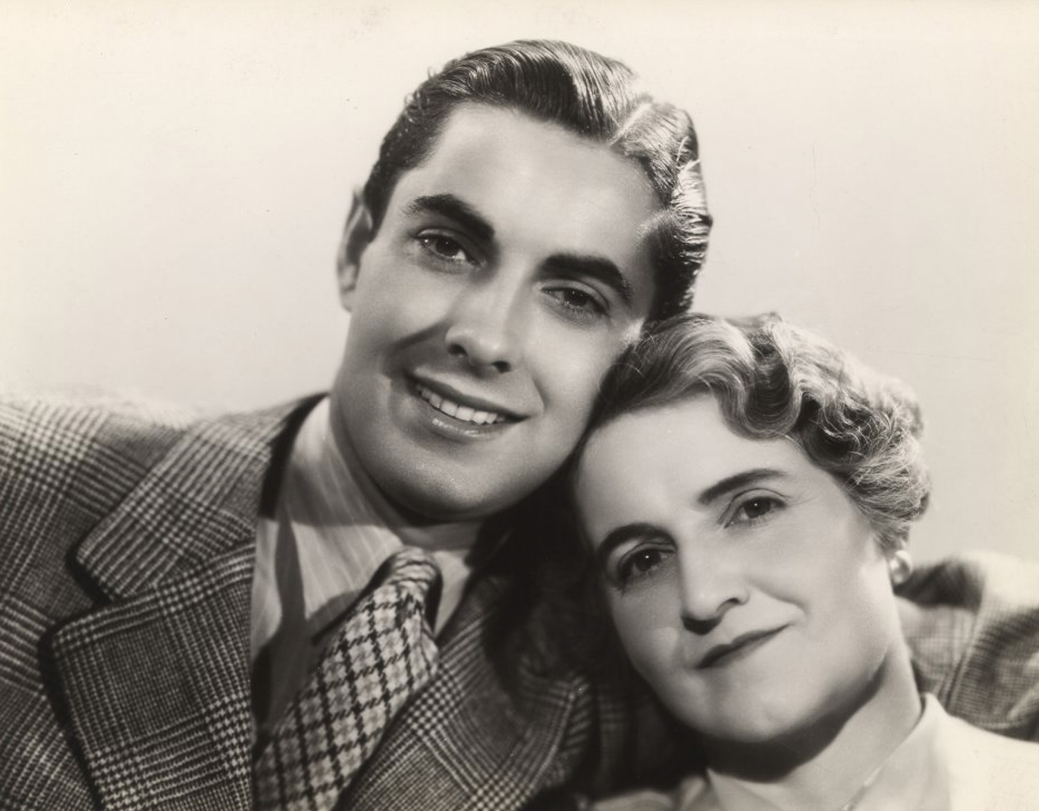 Tyrone Power, Jr. With his mother, Patia Power
