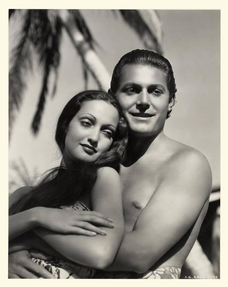Dorothy Lamour and Jon Hall