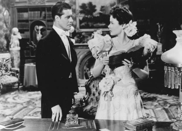 Don Ameche and Gene Tierney in Heaven can Wait (1943)