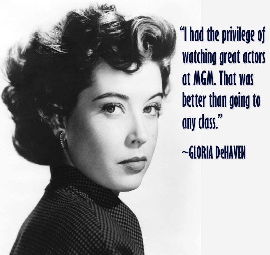 Gloria DeHaven,