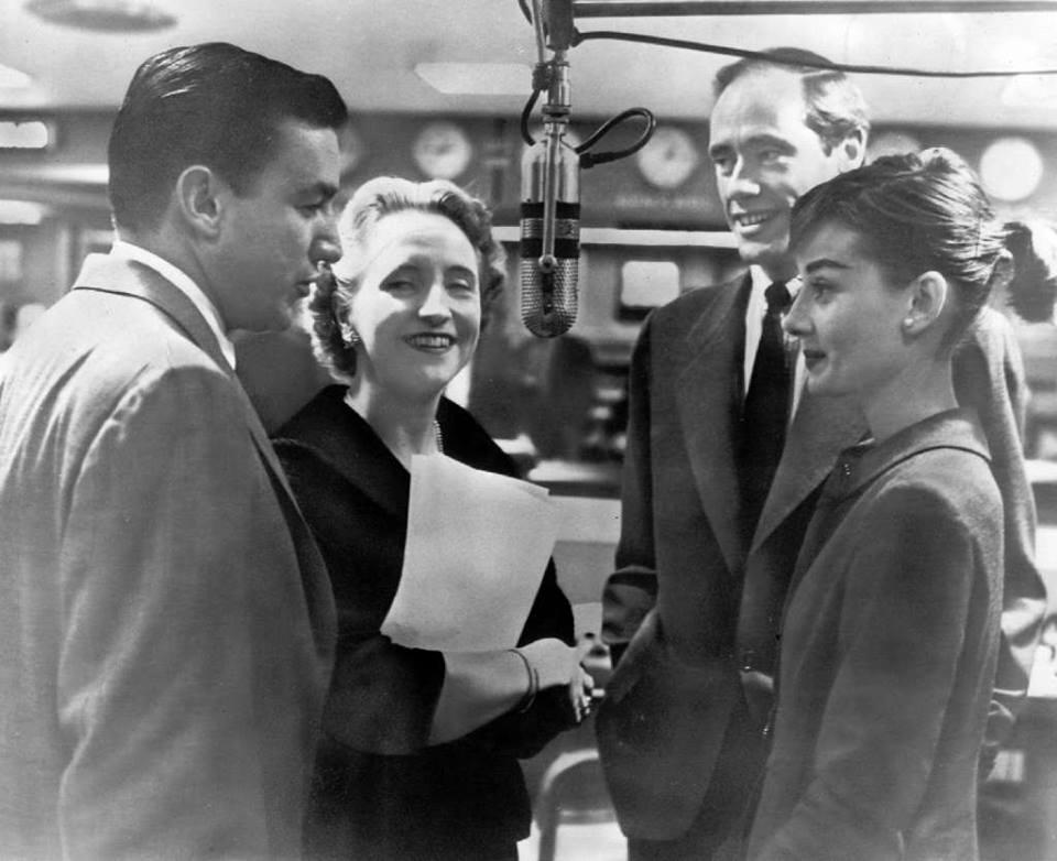 Audrey Hepburn married actor Mel Ferrer at a Protestant chapel in Burgenstock, Switzerland.