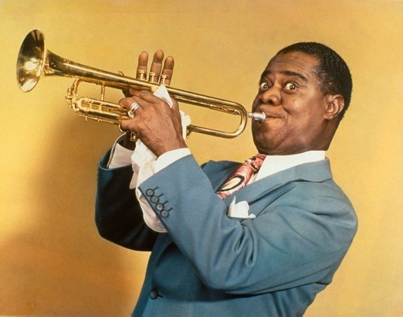 Louis Armstrong!