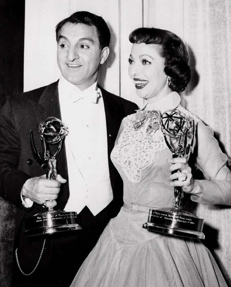 Danny Thomas and Loretta Young,